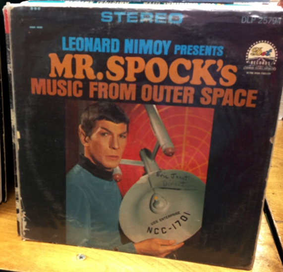 Mr Spock's Music from Outer Space
