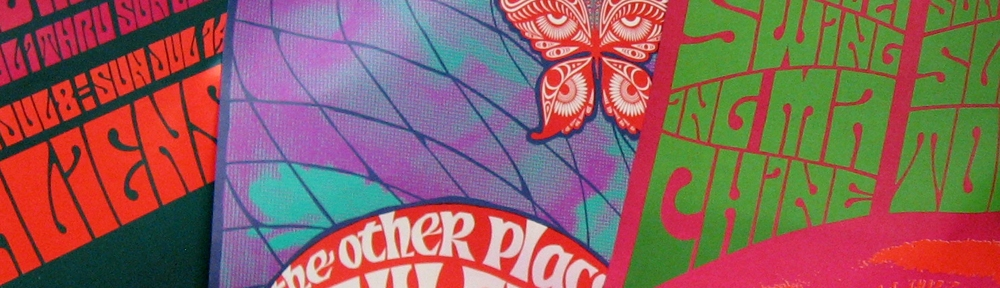 pyschedelic posters