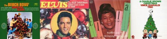 vintage christmas album covers