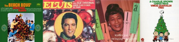 vintage christmas album covers