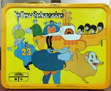 Rare Beatles's 'Yellow Submarine' Lunch Box