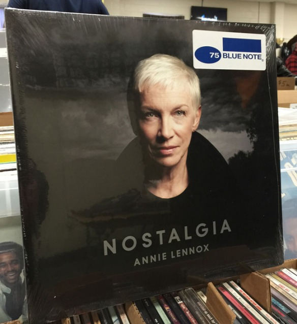 "80s pop queen Annie Lennox of the Eurythmics puts her own spin on standards and blues in her recent release ""Nostalgia."""