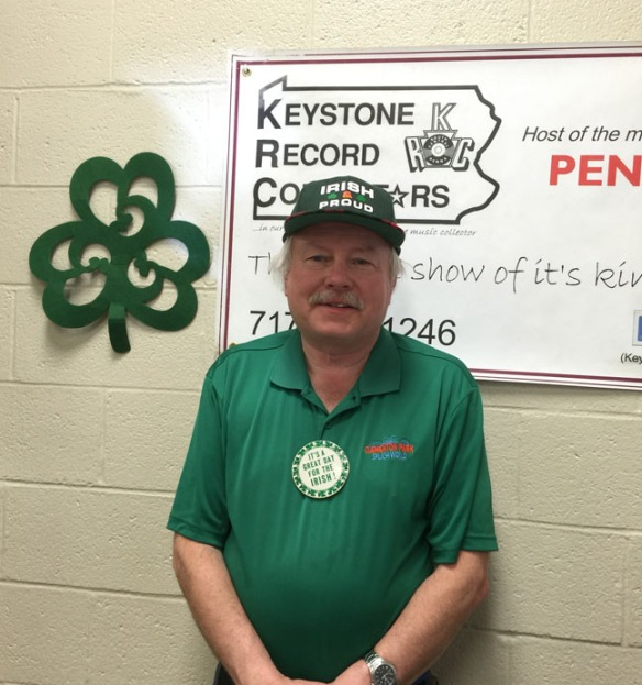 Our announcer B Derk Shaw had his Irish on for last  month's show!