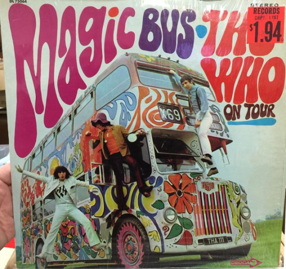 the who magic bus