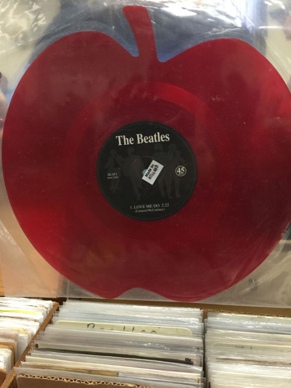 beatle apple colored vinyl