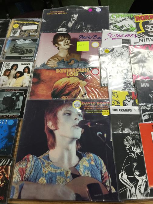 Bowie albums