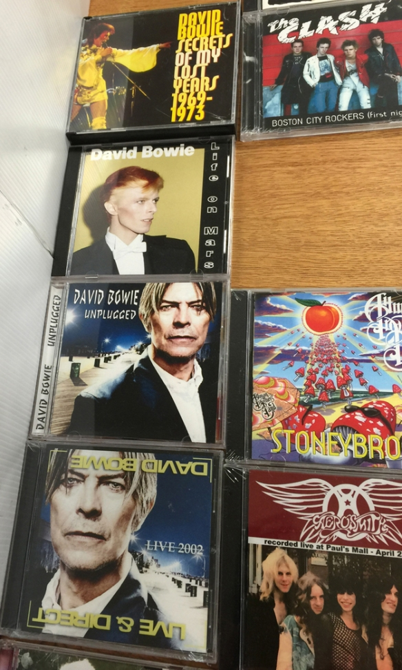 bowie CD display