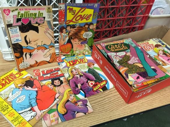 70s love comics