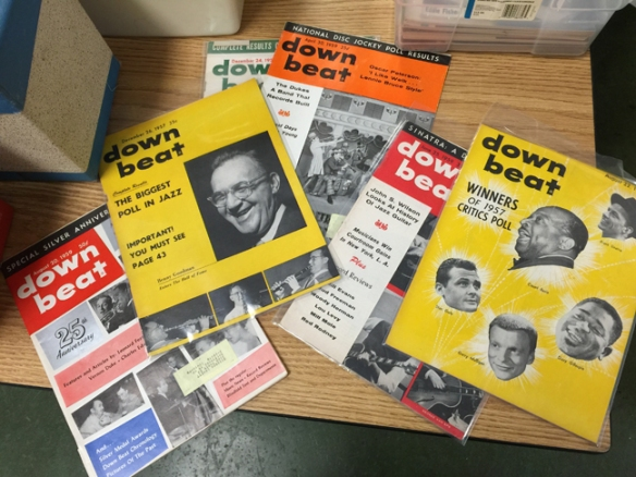 vintage downbeat mags