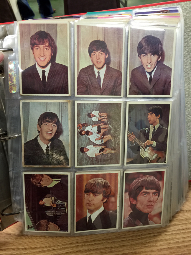 beatles bubblegum cards