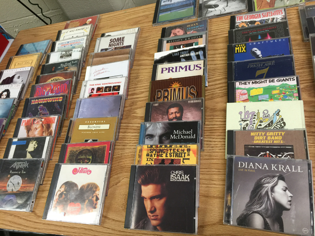 wall of CDs IMG_7241