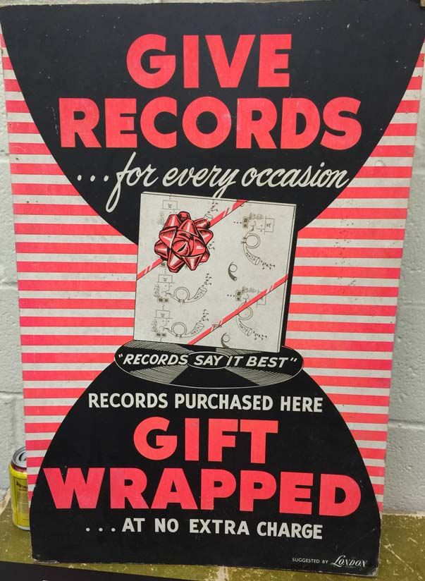 give records poster IMG_0341